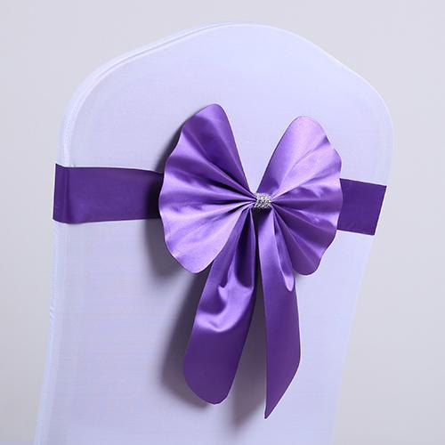 nœud de chaise violet suissevents est le sp 233 cialiste de votre d 233 coration de soir 233 e