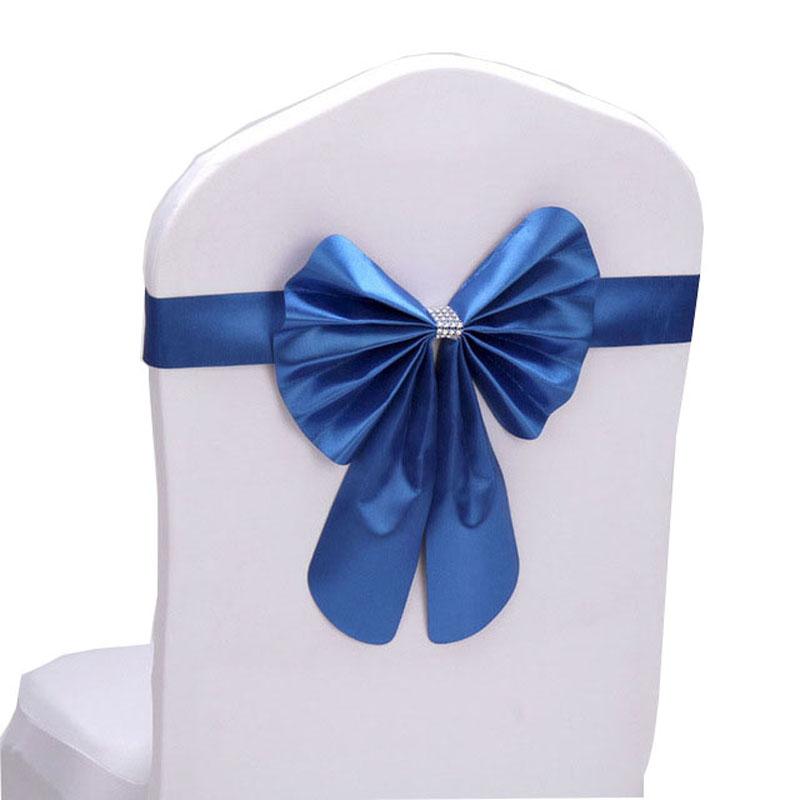 Noeud de chaise bleu royal suissevents est le sp cialiste de votre d coration - Faire un noeud de chaise ...