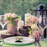 bougies fleurs et nature