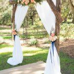 Arche en bois wedding