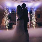 feu d'artifice wedding
